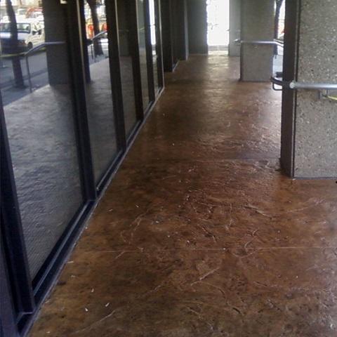 Concrete Services Downtown Sidewalk