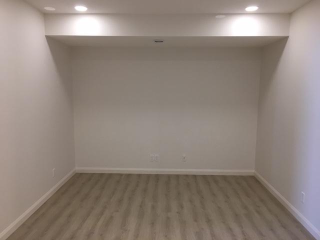 Silverado Basement Empty Room