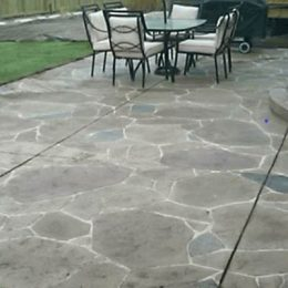 Arizona Flagstone Stamped Patio