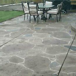 Arizona Flagstone Stamped Patio
