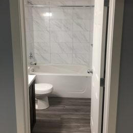 Brightoncrest Bathroom in Basement