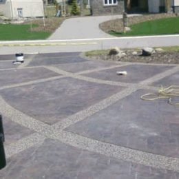 Driveway with Designers Borders
