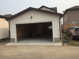 Front View of a Garage