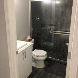Kings Heights Bathroom Wooden Tiles